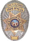 Officers Badge - State of California