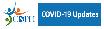 Logo and link to California Department of Public Health COVID-19 website